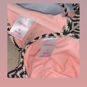 Xhilaration Swim - Xhilaration Chevron Print Bikini